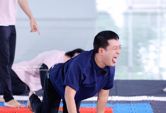 Lan Ngọc nhăn nhó thấy thương, Đức Phúc - Cris Phan là khách mời trong tập 2 Running Man Vietnam