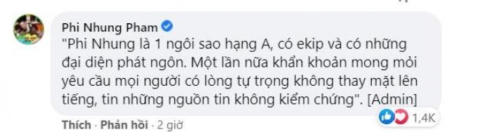 Hồng Vân tiết lộ sức khỏe Phi Nhung có kỳ tích, ê-kíp khẩn khoản nhắc nhở bạn bè, đồng nghiệp 1 điều!
