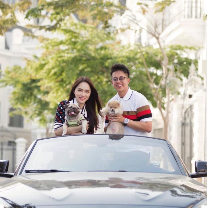 Khoe đồng hồ, Matt Liu để lộ bằng chứng sống chung nhà với người yêu Hương Giang?