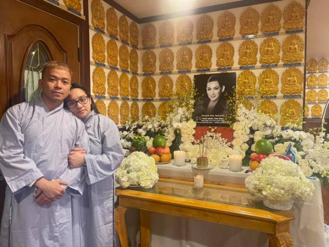 Quá xót xa: Wendy sinh con được 8 tháng, Phi Nhung chưa kịp về thăm cháu ngoại đã qua đời