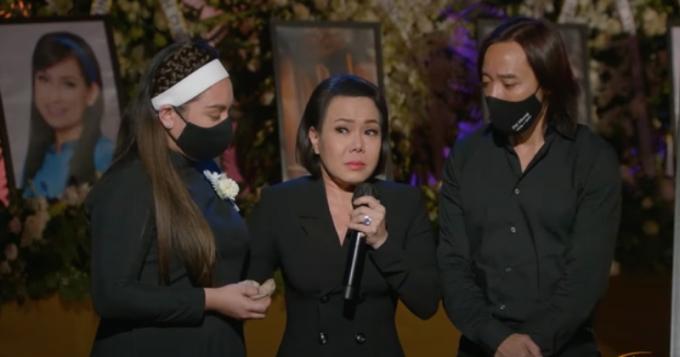 Việt Hương òa khóc xin lỗi Wendy, tự trách vì bản thân mà Phi Nhung không về Mỹ rồi qua đời