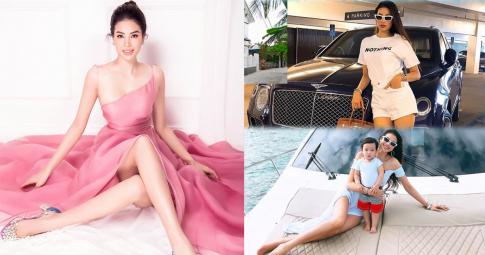 Phạm Hương sau 3 năm qua mỹ, cuộc sống sang chảnh ở biệt thự triệu đô, sở hữu nhiều siêu xe