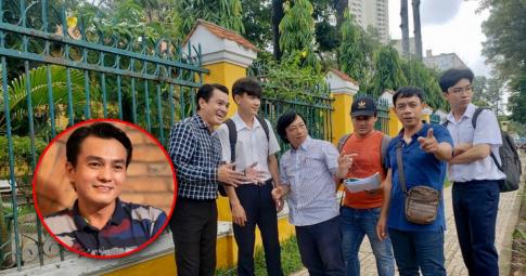 Cao Minh Đạt giản dị trên phim trường, tiếp tục hội ngộ Thân Thúy Hà trong phim mới