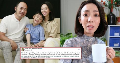"""Thu Trang phủ nhận phát ngôn """"không cần khán giả"""" nhưng vẫn chạnh lòng sau câu hỏi của con trai"""