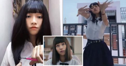 Clip Lê Bống đu trend đóng giả Nanno (Girl From Nowhere) nhận view khủng, Netizen nói gì?