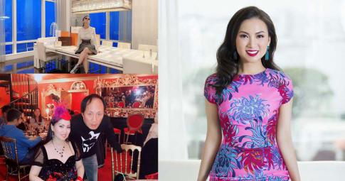 """Cuộc sống của em gái Cẩm Ly - """"người Việt giàu nhất thế giới"""": Đi chuyên cơ riêng, miệt mài làm từ thiện"""