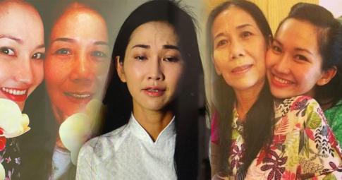 Kim Hiền nghẹn ngào, nuốt nước mắt vào trong vì ngày mẹ mất đến giỗ đầu đều không thể về Việt Nam