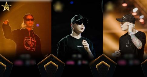 """Suboi siêu ngầu trong ngày tập luyện, Binz và Karik """"đọ"""" style cùng dàn thí sinh Rap Việt"""
