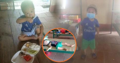 """""""Chàng trai"""" 3 tuổi dũng cảm tự cách ly một mình ở Bắc Giang đã được về nhà"""