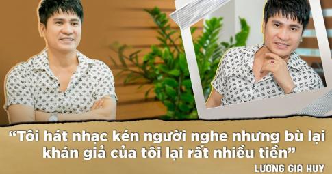 """Lương Gia Huy: """"Nhiều người tự nhận là ca sĩ chuyên nghiệp nhưng không hề có tố chất giọng hát"""""""