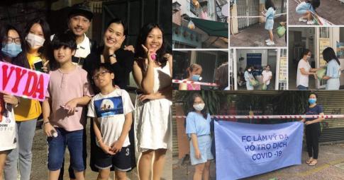 FC Lâm Vỹ Dạ chung tay góp sức trao quà từ thiện cùng người Sài Gòn chống dịch