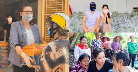 Sao Việt chăm làm từ thiện, dân mạng thích chê bai vô lý