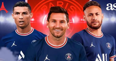PSG muốn Ronaldo thay Mbappe