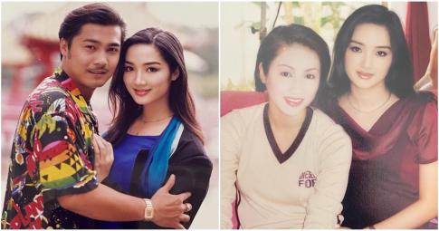 Hoa hậu Giáng My khoe ảnh thời trẻ bên Lý Hùng, đọ sắc cùng ngôi sao TVB - Lê Tư
