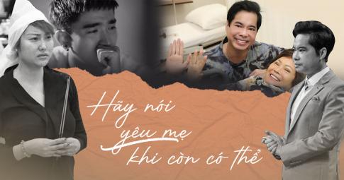 """Nỗi buồn của sao Việt với """"bông hồng trắng trên áo"""" trong mùa Vu Lan: Hãy nói yêu mẹ khi còn có thể!"""