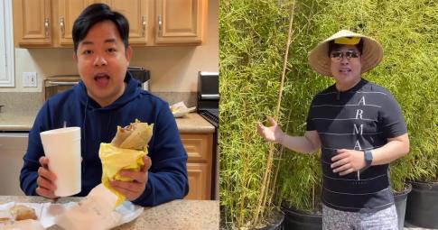 Quang Lê khoe cuộc sống giàu sang ở Mỹ: Ăn tôm hùm, có khu vườn rộng đầy cây trái Việt Nam