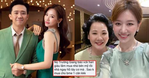 """Gia đình ở nhà thuê bên Hàn, Hari Won nói gì khi fans chê: """"Giàu mà không mua biệt thự cho bố mẹ"""""""