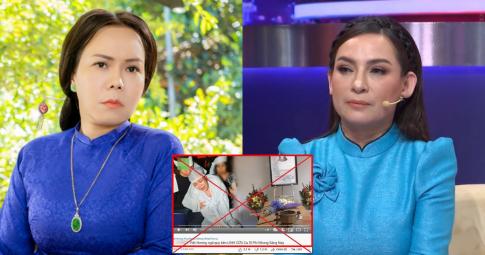 """Việt Hương bức xúc vì Youtuber """"ác độc"""" cắt ghép ảnh cô khóc lóc, cập nhật tình hình của Phi Nhung"""