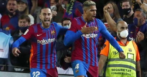 Barca hòa thất vọng tại Camp Nou