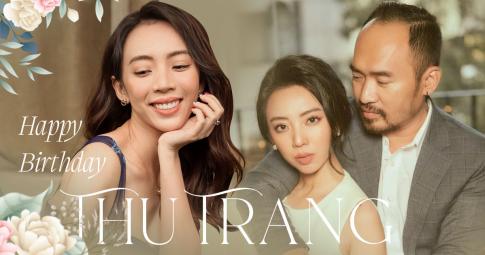 """Thu Trang: Từ """"hoa hậu làng hài"""" tới """"chị Mười Ba"""" khét tiếng, viên mãn bên chồng con ở tuổi 37"""