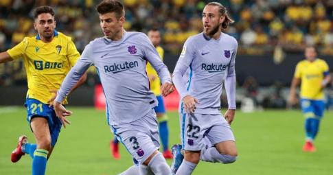 Barca hoà trận thứ hai liên tiếp ở La Liga