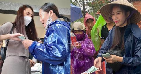 """Các địa phương lần lượt xác nhận số tiền từ thiện nhận từ Thủy Tiên: Thực tế có khác với """"sao kê""""?"""