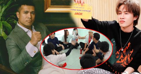 Fan hỏi chuyện bị Jack ném chai nước vào mặt, Trương Thế Vinh đáp trả ra sao mà ai cũng nể phục?
