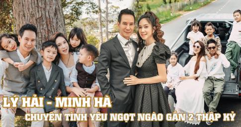 """Chuyện tình đẹp gần 2 thập kỷ của Lý Hải - Minh Hà: Mặn nồng, chung thủy đúng nghĩa """"trọn đời bên em"""""""