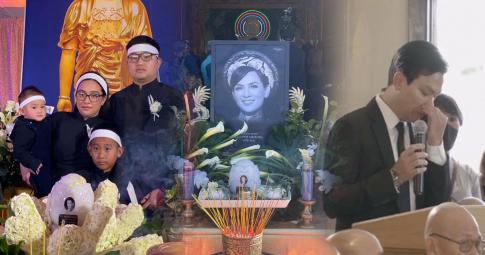 Tang lễ Phi Nhung tại Mỹ: Con gái thất thần bên chồng con, Mạnh Quỳnh cùng nhiều nghệ sĩ khóc nghẹn tiễn biệt