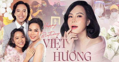 """Tuổi 45 bận rộn của Việt Hương: Hết lòng làm từ thiện, giúp đỡ đồng nghiệp - """"Vbiz ấm áp vì có chị"""""""