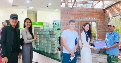 Chốt hạ: 7 tỉnh miền Trung báo cáo Bộ Công an số tiền từ thiện của Thủy Tiên và các nghệ sĩ