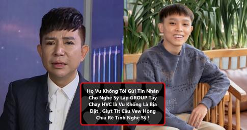 Bị tố kêu gọi các nghệ sĩ cùng tẩy chay Hồ Văn Cường, Long Nhật nói gì?