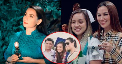 Lộ diện hình ảnh hiếm hoi của Wendy Phạm chụp cùng cố CS Phi Nhung và bố ruột
