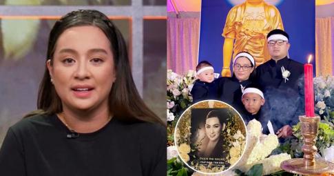 Wendy tiết lộ nơi rải tro cốt của mẹ Phi Nhung cùng số tiền quyên góp từ thiện đáng kể sau tang lễ