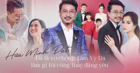 Hứa Minh Đạt áp lực lúc mới cưới Lâm Vỹ Dạ, tiết lộ lý do không thể tặng bà xã quà đắt tiền